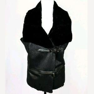 LOGO by Lori Goldstein INSTANT CHIC Faux Fur Vest